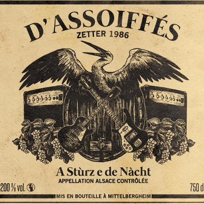 D'Assoiffés - A Stùrz e de Nàcht (Artwork/Logo by Manue MONTEIRO). © 2016 by Les Assoiffés. License: CC BY-NC-ND