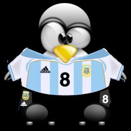 """Bild """"Argentina Tux"""" von pinguinito (BY-NC-SA)"""