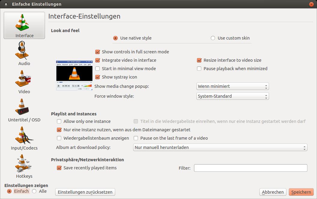VLC Media Player Screenshot (2)