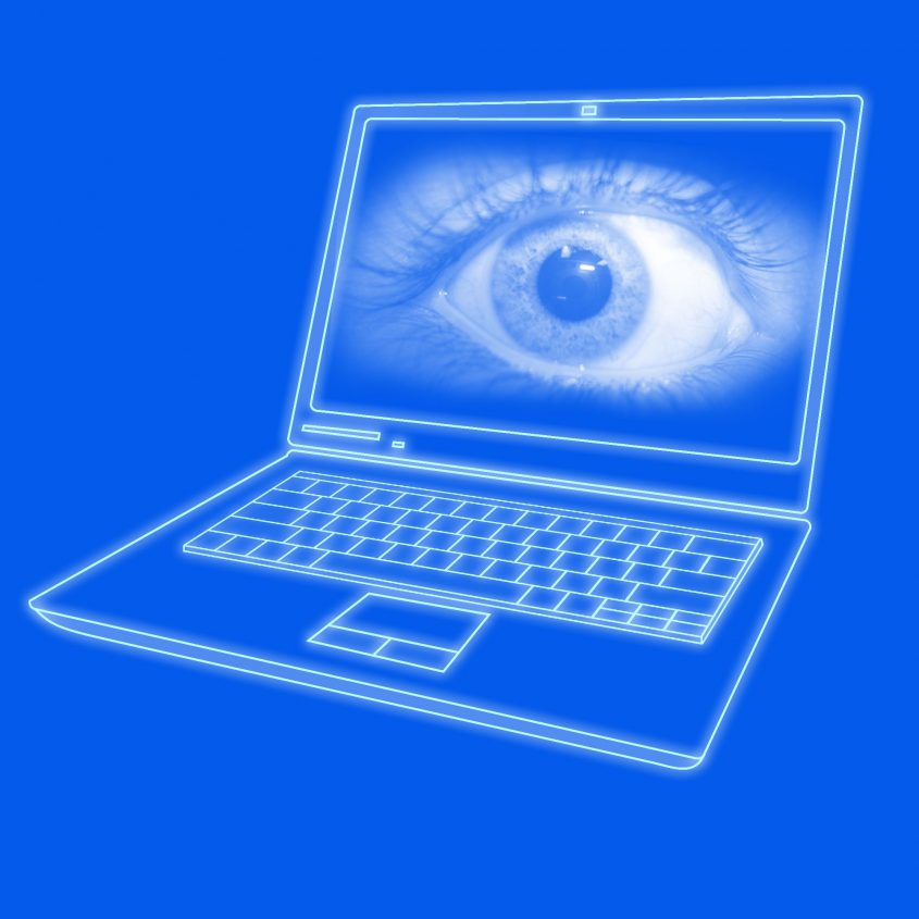 "Bild: ""Laptop Spying"" • Photo by Electronic Frontier Foundation (EFF) – Creative Commons License BY 2.0 • Bildquelle: flickr.com/electronicfrontierfoundation"