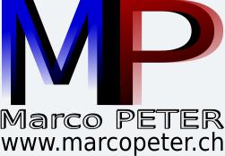Marco PETER Logo © 2018 www.marcopeter.ch